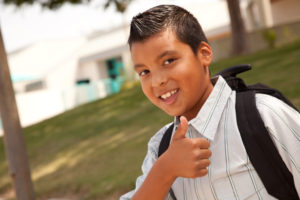 getting kids to school, parenting humor, 4th grader